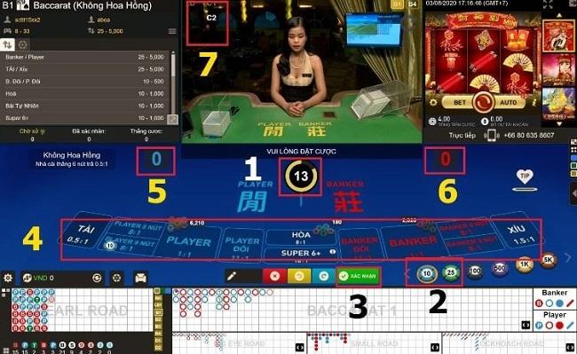 Tim hieu game bai classic baccarat